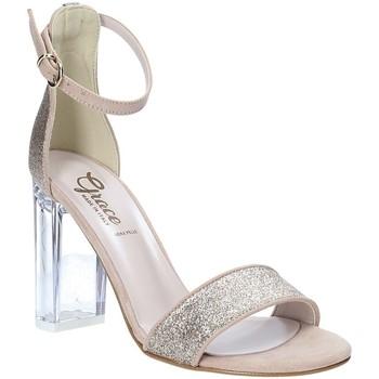 kengät Naiset Sandaalit ja avokkaat Grace Shoes 018TR003 Beige