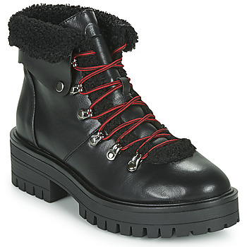 kengät Naiset Bootsit Emmshu ESIDAVER Musta