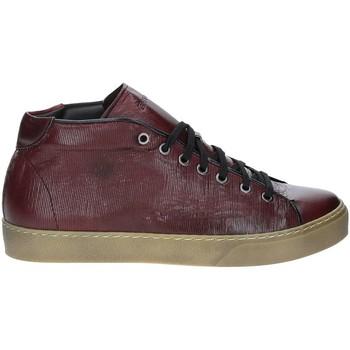 kengät Miehet Korkeavartiset tennarit Exton 481 Punainen