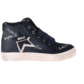kengät Lapset Korkeavartiset tennarit Melania ME2041D8I.B Sininen