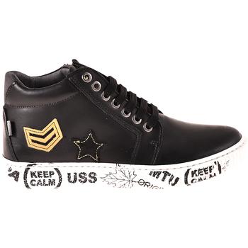 kengät Lapset Korkeavartiset tennarit Melania ME6033F8I.A Musta