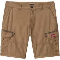 vaatteet Miehet Shortsit / Bermuda-shortsit Napapijri NP0A4E1O Ruskea