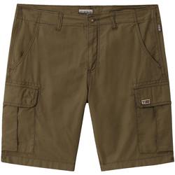 vaatteet Miehet Shortsit / Bermuda-shortsit Napapijri NP0A4E1K Vihreä