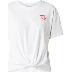 vaatteet Naiset Lyhythihainen t-paita Pepe jeans PL504458 Valkoinen