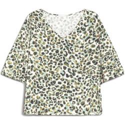 vaatteet Naiset Lyhythihainen t-paita NeroGiardini E062770D Vihreä