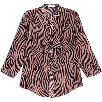 vaatteet Naiset Paitapusero / Kauluspaita Nero Giardini E063181D Musta