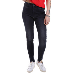 vaatteet Naiset Slim-farkut Calvin Klein Jeans J20J213157 Musta