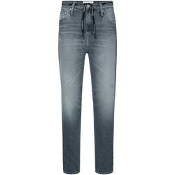 vaatteet Naiset Suorat farkut Calvin Klein Jeans J20J213332 Harmaa