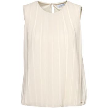 vaatteet Naiset Topit / Puserot Calvin Klein Jeans K20K201947 Beige