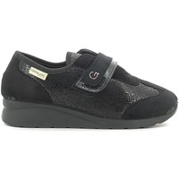 kengät Naiset Matalavartiset tennarit Grunland SC2920 Musta