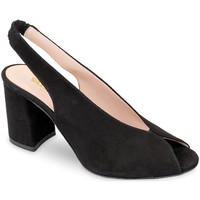 kengät Naiset Sandaalit ja avokkaat Valleverde 29201 Musta