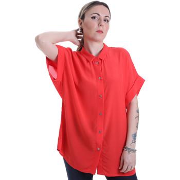 vaatteet Naiset Paitapusero / Kauluspaita Calvin Klein Jeans K20K201950 Punainen