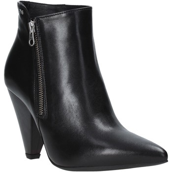 kengät Naiset Nilkkurit Nero Giardini A909451DE Musta