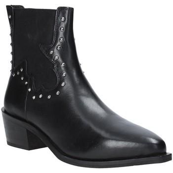kengät Naiset Nilkkurit Apepazza 9FCLM05 Musta