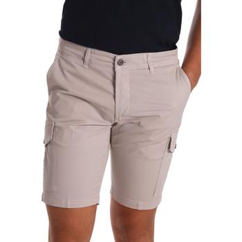 vaatteet Miehet Shortsit / Bermuda-shortsit Sei3sei PZV130 7148 Beige