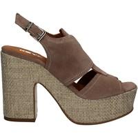 kengät Naiset Sandaalit ja avokkaat Keys 5263 Beige