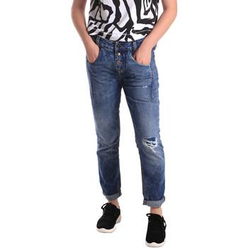 vaatteet Naiset Slim-farkut Fornarina BER1I27D785IM Sininen