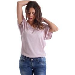 vaatteet Naiset Topit / Puserot Fornarina SE175J78JG01C5 Vaaleanpunainen