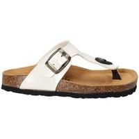 kengät Lapset Varvassandaalit Bamboo BAM-02 Valkoinen