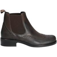 kengät Naiset Bootsit Mally 4591 Ruskea