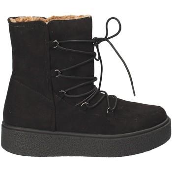 kengät Naiset Talvisaappaat Fornarina PI18TA1138T000 Musta