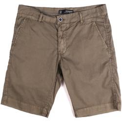 vaatteet Miehet Shortsit / Bermuda-shortsit Key Up 2P17A 0001 Ruskea