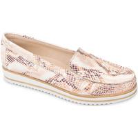 kengät Naiset Mokkasiinit Valleverde 11108 Oranssi