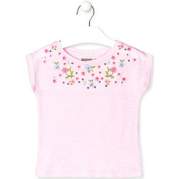 vaatteet Lapset Lyhythihainen t-paita Losan 016-1003AL Vaaleanpunainen