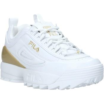 kengät Naiset Matalavartiset tennarit Fila 1010862 Valkoinen