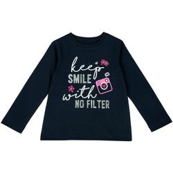 vaatteet Lapset T-paidat pitkillä hihoilla Chicco 09006871000000 Sininen