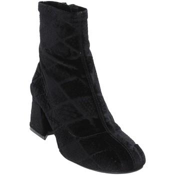 kengät Naiset Nilkkurit Apepazza SHR05 Musta