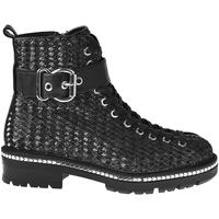 kengät Naiset Nilkkurit Elvio Zanon I6508N Musta