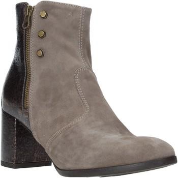 kengät Naiset Nilkkurit Nero Giardini A908730D Beige