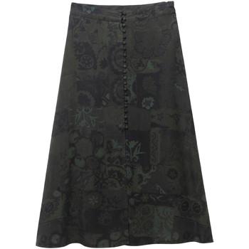 vaatteet Naiset Hame Desigual 19WWFW16 Vihreä