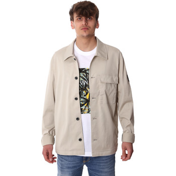 vaatteet Miehet Paksu takki Calvin Klein Jeans K10K105272 Harmaa