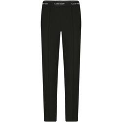 vaatteet Naiset Chino-housut / Porkkanahousut Calvin Klein Jeans K20K201765 Musta