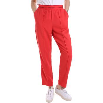 vaatteet Naiset Verryttelyhousut Calvin Klein Jeans K20K201765 Punainen
