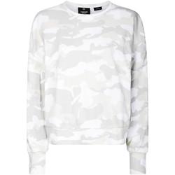 vaatteet Naiset Svetari Calvin Klein Jeans 00GWH9W391 Valkoinen