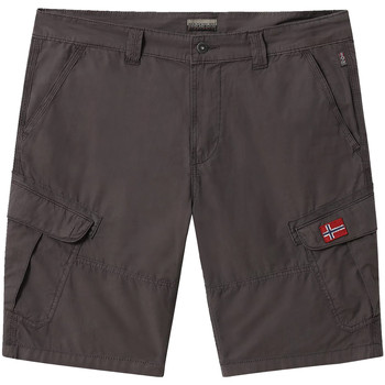 vaatteet Miehet Shortsit / Bermuda-shortsit Napapijri NP0A4E1O Harmaa
