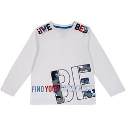vaatteet Lapset T-paidat pitkillä hihoilla Chicco 09006867000000 Valkoinen