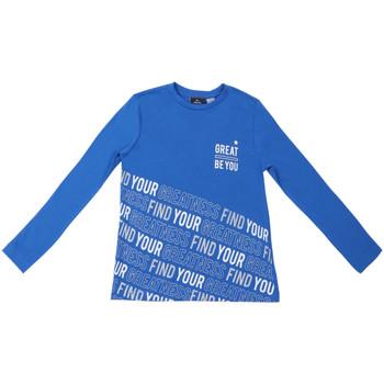 vaatteet Lapset T-paidat pitkillä hihoilla Chicco 09006867000000 Sininen