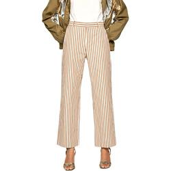 vaatteet Naiset Väljät housut / Haaremihousut Pepe jeans PL211369 Beige
