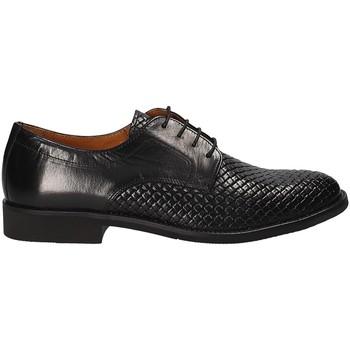 kengät Miehet Derby-kengät Stonefly 110766 Musta