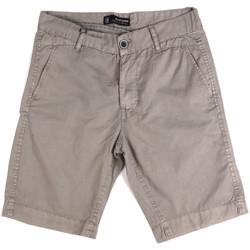 vaatteet Miehet Shortsit / Bermuda-shortsit Key Up 2P17A 0001 Harmaa