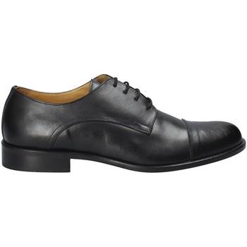 kengät Miehet Herrainkengät Exton 6013 Musta