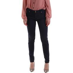 vaatteet Naiset Chino-housut / Porkkanahousut Gaudi 921BD25002 Sininen