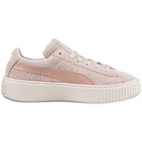 kengät Lapset Matalavartiset tennarit Puma 364701 Vaaleanpunainen