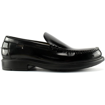 kengät Miehet Mokkasiinit CallagHan 90002 Musta