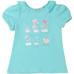 vaatteet Lapset Lyhythihainen t-paita Chicco 09006969000000 Sininen