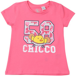 vaatteet Lapset Lyhythihainen t-paita Chicco 09006955000000 Vaaleanpunainen